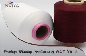 What are the Package Winding Conditions of ACY yarn