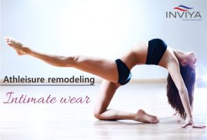 Athleisure remodeling intimate wear
