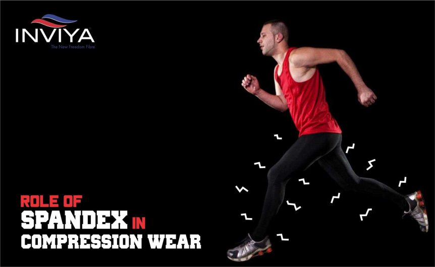 spandex in compression wear