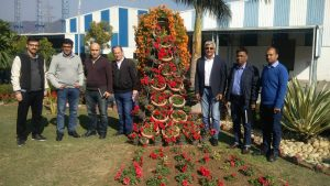ISKO DENIM's Turkey Team Visit at Baddi Plant