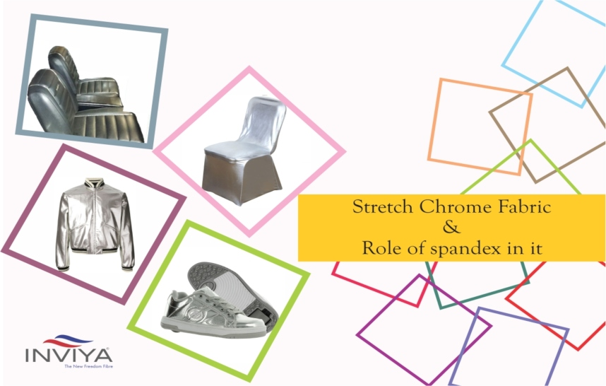 role of spandex in stretch chrome fabrics