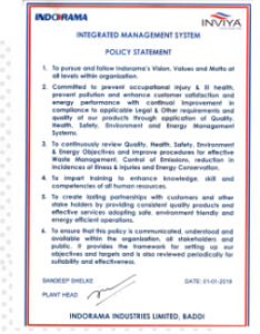 Annexure-D IMS Policy