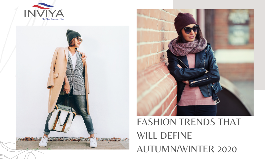 Fashion trends that will define autumn/winter 2020